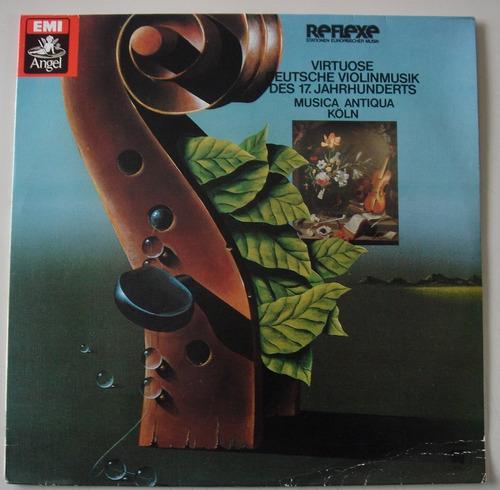 lp clássico - música virtuosa alemã para violinoseculo 17