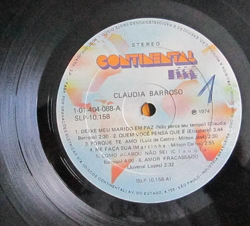 lp claudia barroso 1974