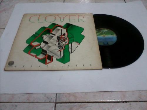 lp clover - una vailable 1977. frete grátis.