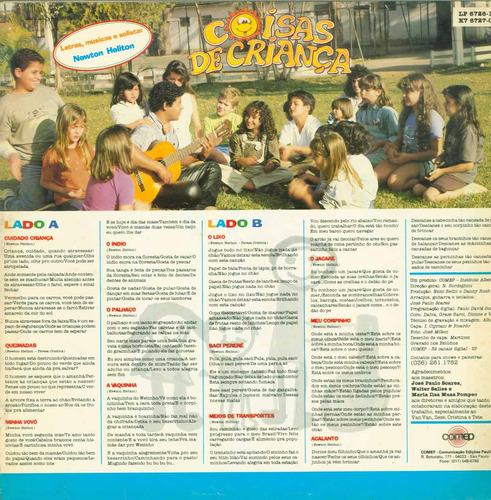 lp coisas de criança - 1991 - comep