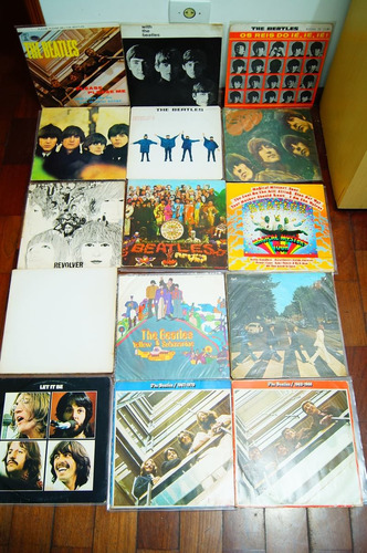 lp - colecao beatles 18 discos