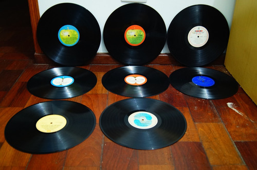 lp - colecao completa beatles 18 discos