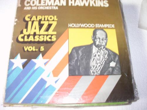 lp coleman hawkins - hollywood stampede - 1972