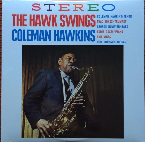 lp coleman hawkins the hawk swings import 180g lacrado raro