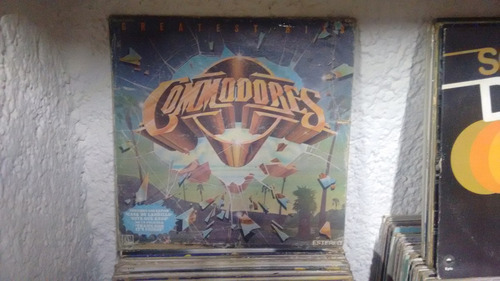 lp commodores greatest hits en formato acetato,long play
