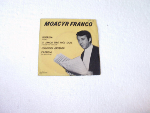 lp compacto moacyr franco 1968 querida,patricia