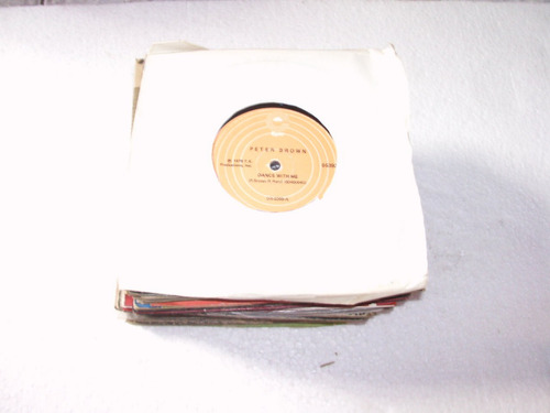 lp compacto peter brown,1978 dance with me, for your love