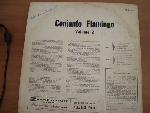 lp conjunto flamingo