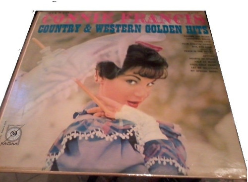 lp connie francis country & western golden hits stereo
