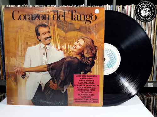 lp corazon del tango 1987 - veja o video- dj