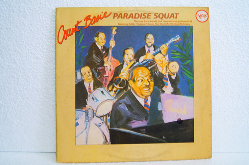 lp - count basie - paradise squat