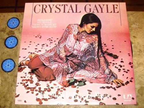 lp crystal gayle - we must believe in magic (1977)