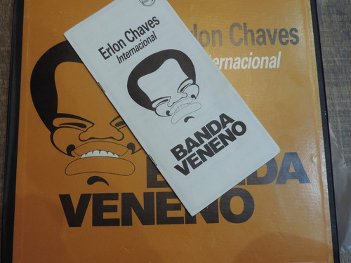 lp cx box 6lp erlon chaves internacional raríssimo 1983