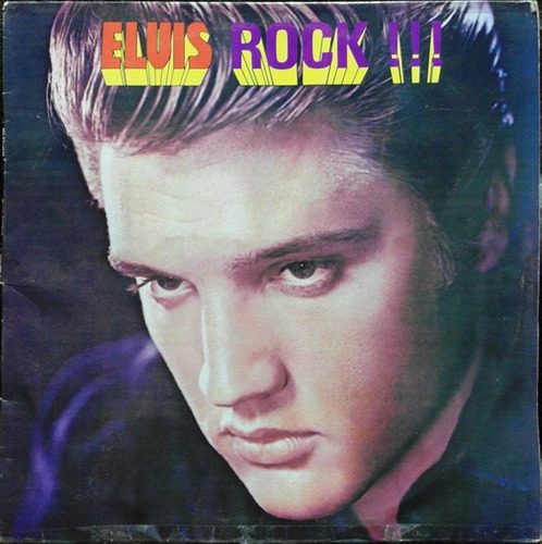lp de elvis presley - elvis rock!!! 1984