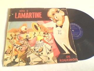 lp de vinil isto é lamartine