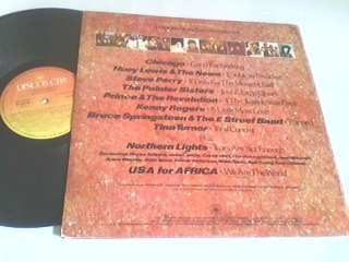lp de vinil we are the world - usa for africa