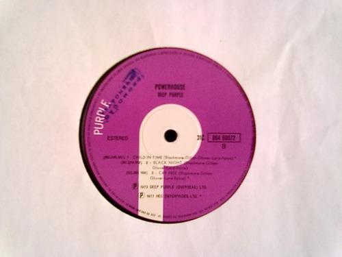 lp deep purple powerhouse stereo promocional sem uso