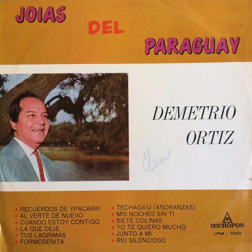 lp demetrio ortiz ( joias del paraguay )