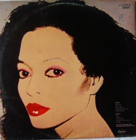 lp diana ross - silk electric - vinil 1982