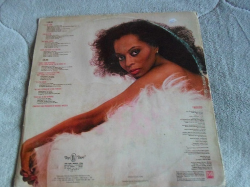 lp diana ross / to love again / ano 1980