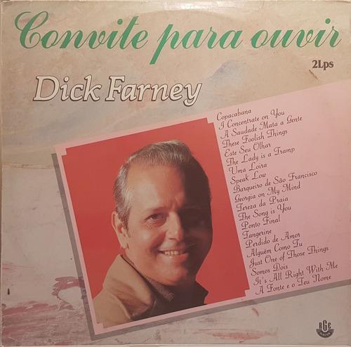 lp - dick farney - convite para ouvir