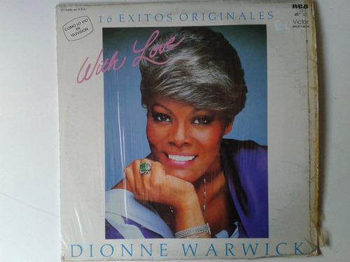 lp dionne warwick with love 16 exitos originales pm0