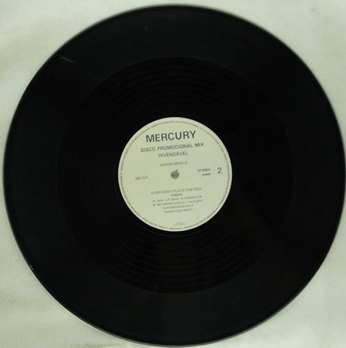 lp disco promocional mix - scorpions - aaron neville - de007