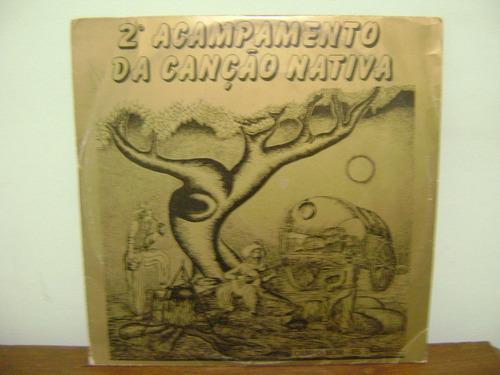 lp disco vinil 2º acampamento canção nativa campo bom 1985