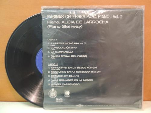 lp disco vinil alicia de larrocha piano steinway vol 2