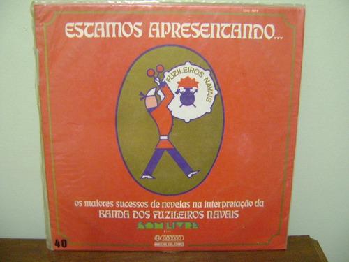 lp disco vinil banda fuzileiros navais novelas 1972