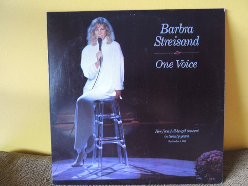lp disco vinil barbra streisand one voice