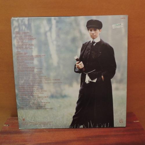 lp disco vinil barbra streisand yentl 1983