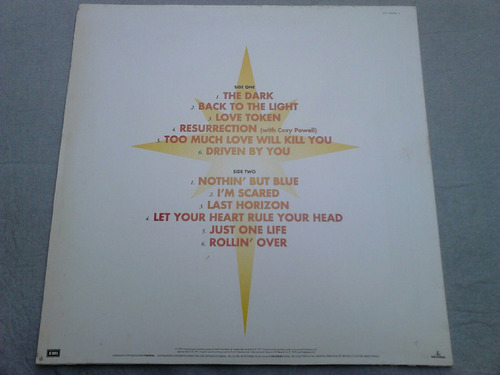 lp disco vinil brian may - back to the light (queen)