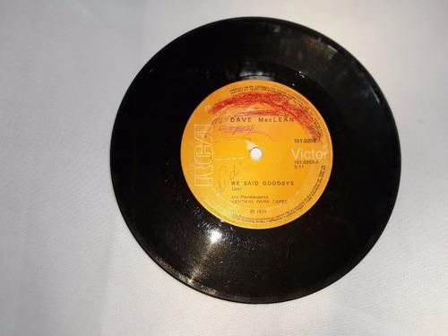 lp disco vinil compacto dave maclean ou maclean cod 1321
