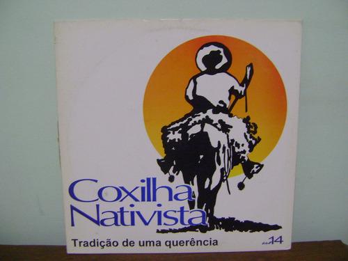 lp disco vinil coxilha nativista ano 14 cruz alta 1994