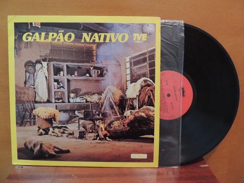 lp disco vinil galpão nativo tve 1986