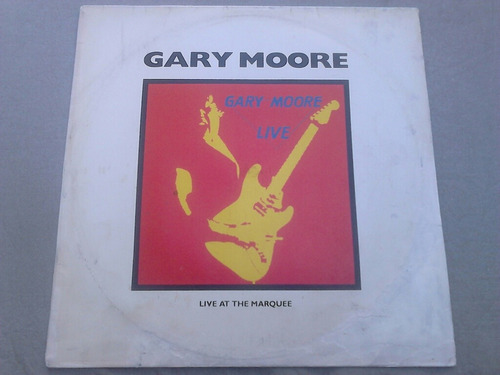 lp disco vinil gary moore - live at the marquee