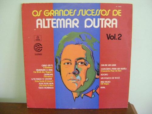 lp disco vinil grandes sucessos de altemar dutra volume 2
