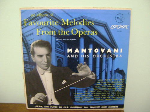 lp disco vinil mantovani and his orchestra operas
