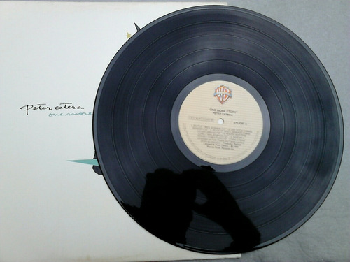 lp disco vinil peter cetera - one more story
