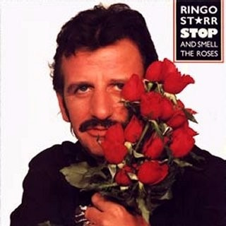 lp disco vinil ringo starr  - stop and smell the rose- 1981