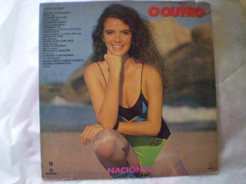 lp disco vinil trilha sonora novela o outro 1987 unico no ml