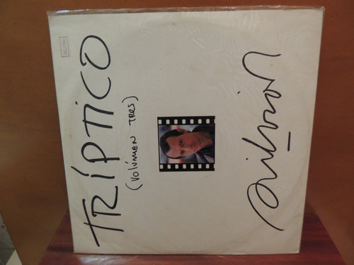 lp disco vinil tríptico volumes 1 e 3