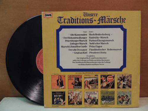 lp disco vinil unsere traditions marsche 1976
