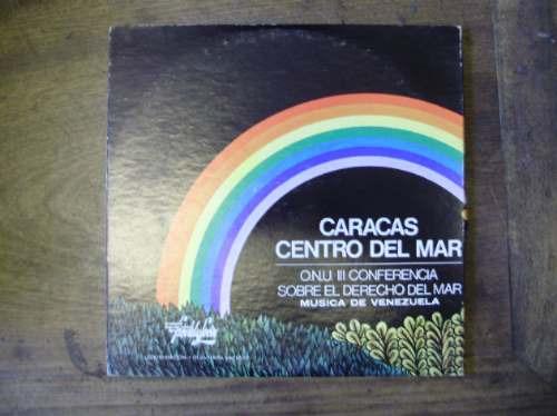 lp disco vinilo caracas centro del mar onu 3 conf. venezuela