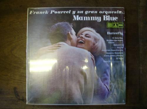lp disco vinilo franck pourcel y su gran orquesta mammy blue
