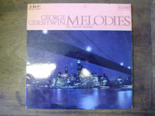 lp disco vinilo george gershwin melodies the shining strings