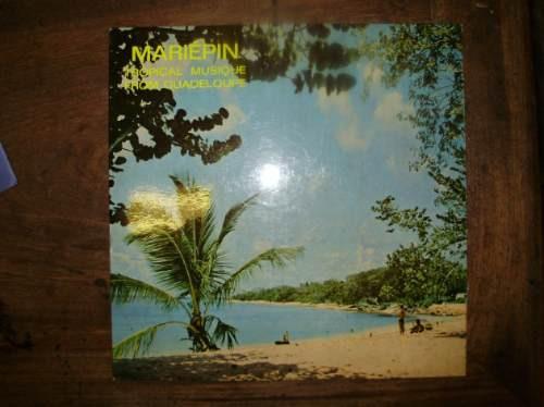 lp disco vinilo mariepin tropical musique from guadeloupe