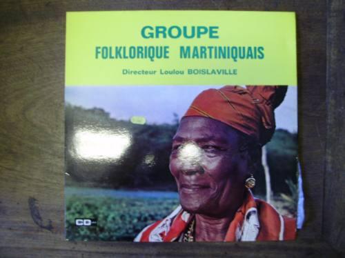 lp disco vinilo pasta groupe folklorique martiniquais