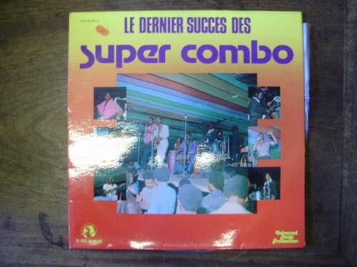 lp disco vinilo pasta le dernier succes des super combo